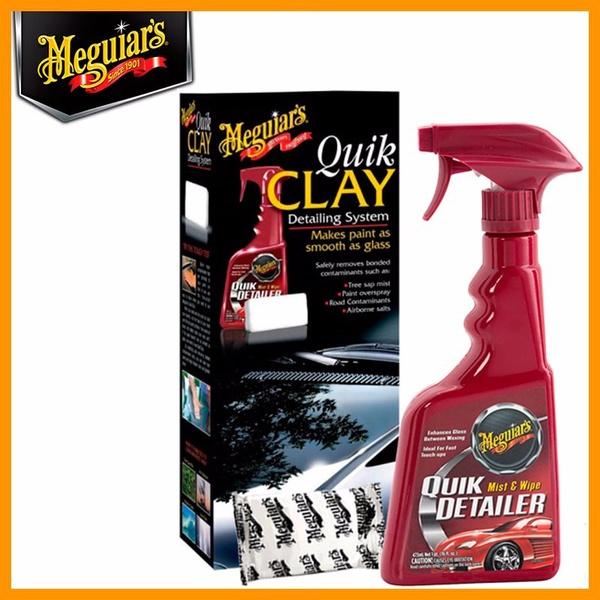 Kit Quik Clay Bar + Tok Final Para Descontaminação - G1116 - Meguiars