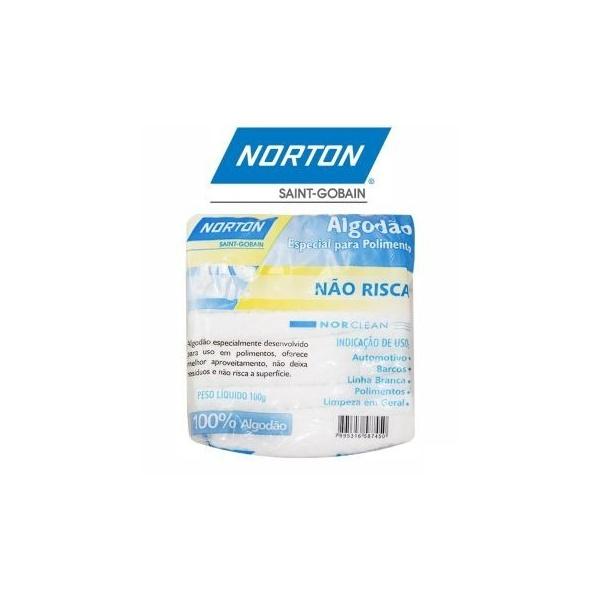 Algodão para Polimento 100g - Norton
