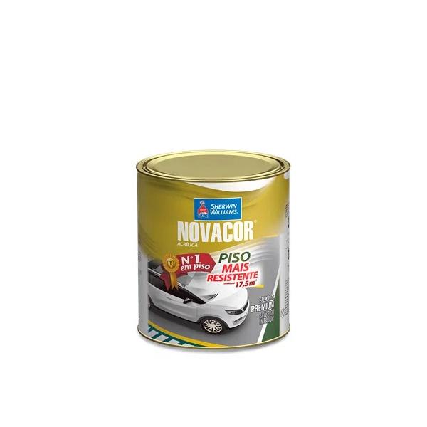 Tinta Piso Acrílica Fosco 900ml Novacor Piso (Escolha Cor) *