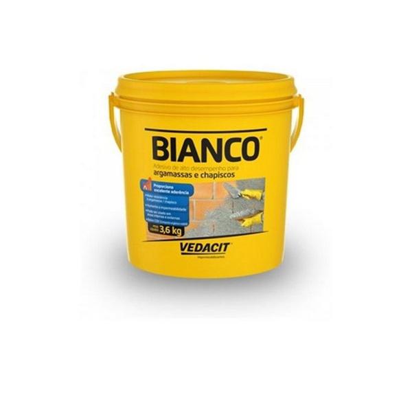 Adesivo Liquido p/Argamassa Bianco - 3,6kg - Otto Baumgart
