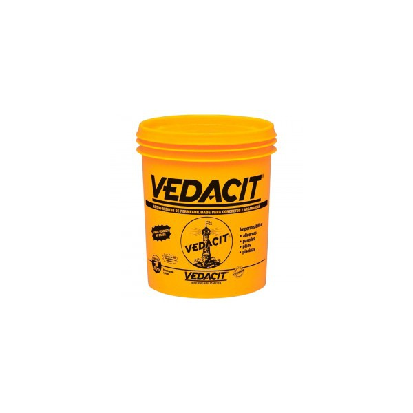 Aditivo Impermeabilizante para Concreto E Argamassa Vedacit Branco 900ml
