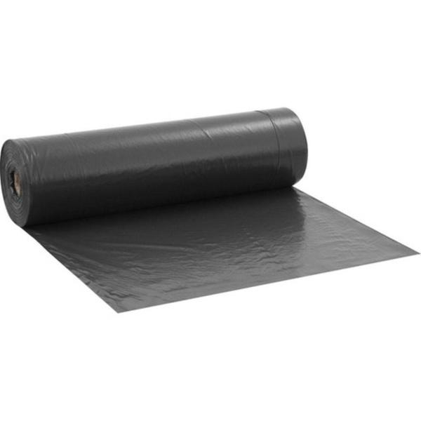 Lona Plástica Preta Médio 4m X 1m ( METRO)