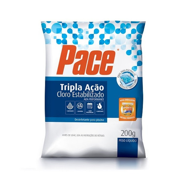 Pastilha De Cloro Pace Hth Tripla Ação 200g