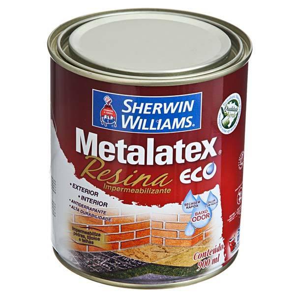 Resina Brilhante Metalatex Eco Sherwin Williams Incolor 900ml