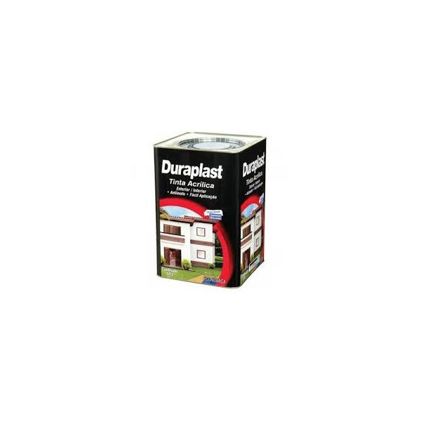 Tinta Acrílica Fosco Duraplast 18L - (Escolha Cor) *