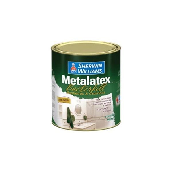 Tinta Acrílica Semi Brilho Branco 900ml - Metalatex Bactercryl