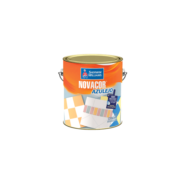 Tinta para Azulejo Branco 3.6 Litros - Novacor