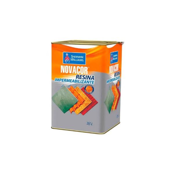 Resina Acrílica Brilhante Incolor 18 Litros - Novacor