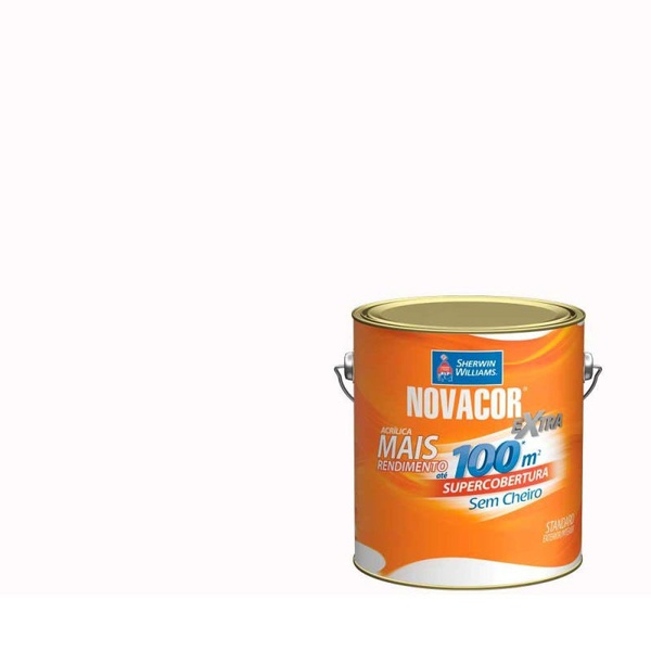 Tinta Acrilica Acetinado 3,2l Litros Novacor Cores do Leque - A Partir de: