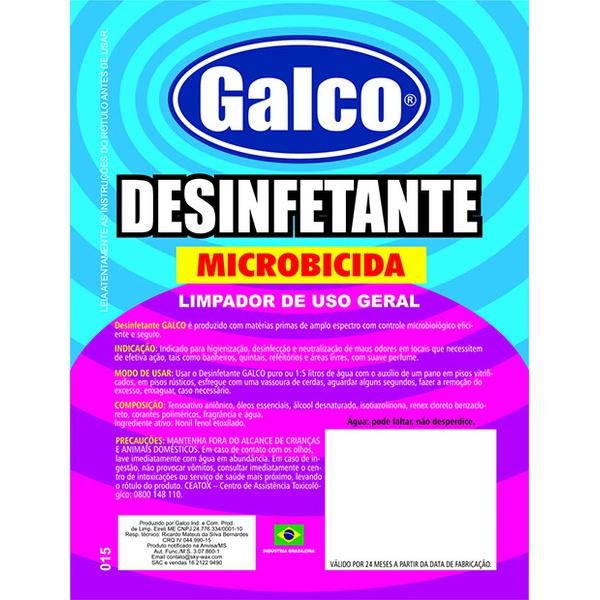 Limpador de Uso Geral Desinfetante Microbicida Concentrado 1L - Sky