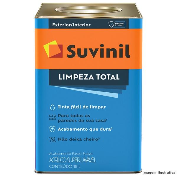 Tinta Acrílica Fosco Suvinil Limpeza Total 18L - (Escolha Cor) *
