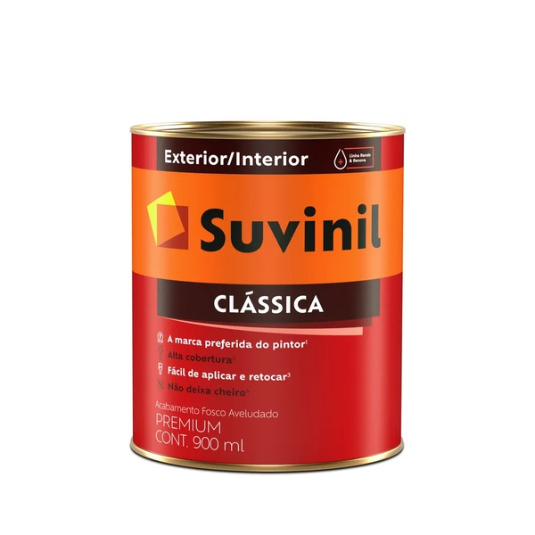 Tinta acrilica Latex 3,2L Cores do Leque (Encomenda) - Suvinil Classica
