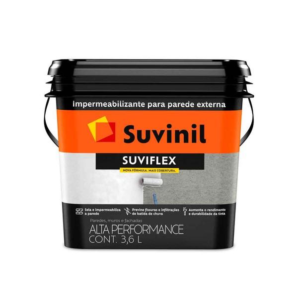Impermeabilizante Parede Suviflex Suvinil 3,6L