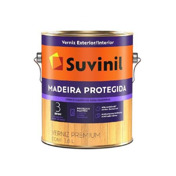 Verniz Brilhante Incolor Maritimo Premium Suvinil 3,6L
