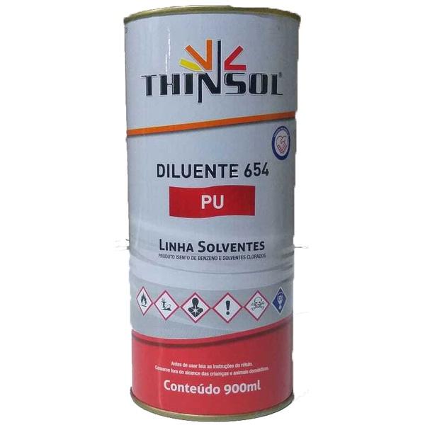 Thinner para Poliéster/Pu 654 900ml - Maxi Tech