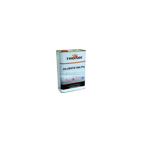Thinner para Poliéster/Pu 654 5 Litros - Maxi Tech