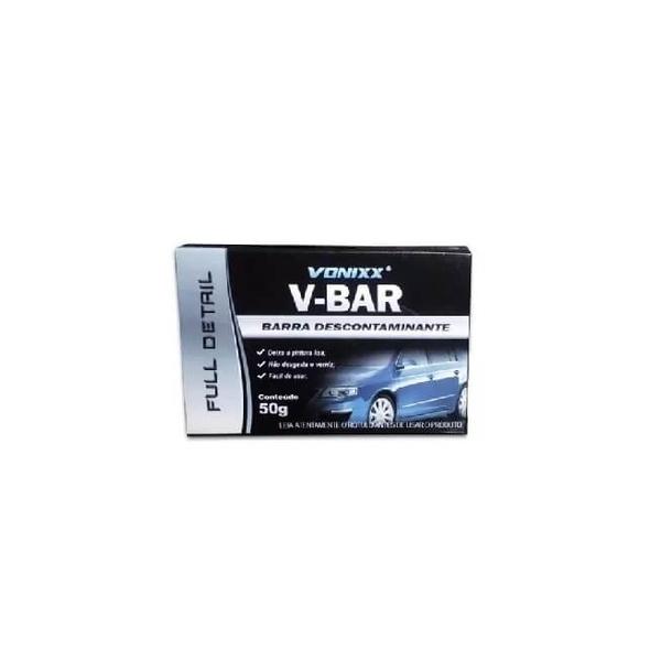 Barra Descontaminante Clay Bar 50g - V-Bar - Vonixx