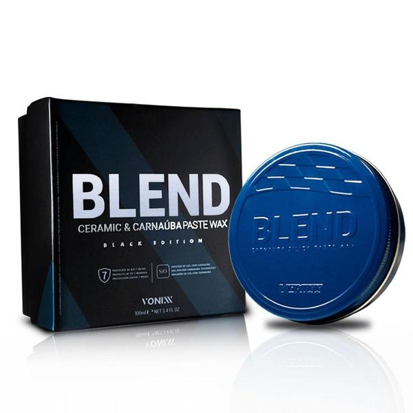 Cera De Carnaúba Com Sílica 100g - Blend Black Edition - Vonixx