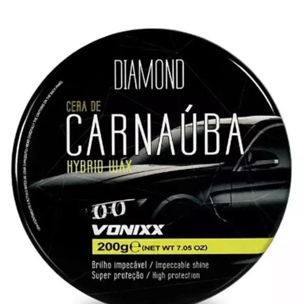 Cera de Carnauba Super Protetora 200g - Vonixx