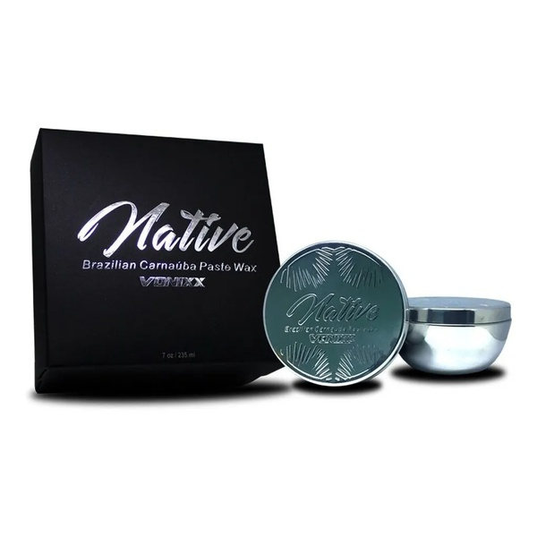 Cera Native Brazilian Carnaúba Paste Wax 236ml - Vonixx