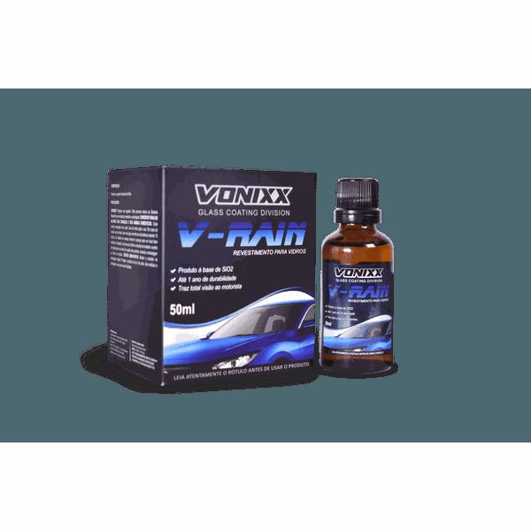 Revestimento Vitrificador Para Vidros 50ml - V-Rain - Vonixx