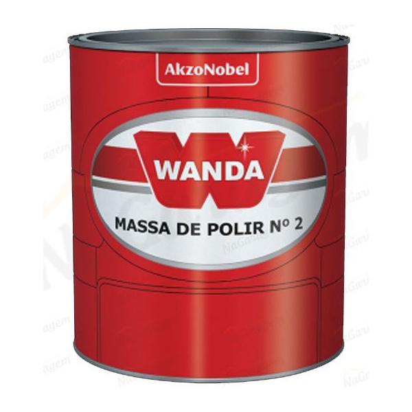 Massa Polir N2 1kg - Wanda