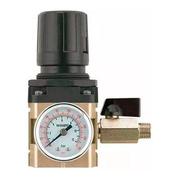 Filtro Regulador de Ar 2 Sáidas 1/4 FRMP-4 - Wimpel