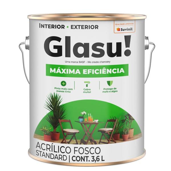 Glasu Maxima Eficiencia Acrilico Branco 3,6L