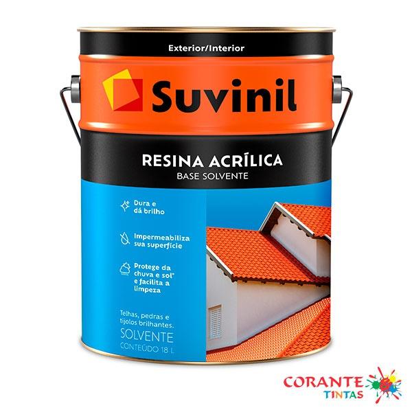 Resina Acrílica Base Solvente 18L Suvinil