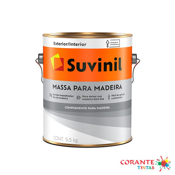 Massa para Madeira 3,6L Suvinil