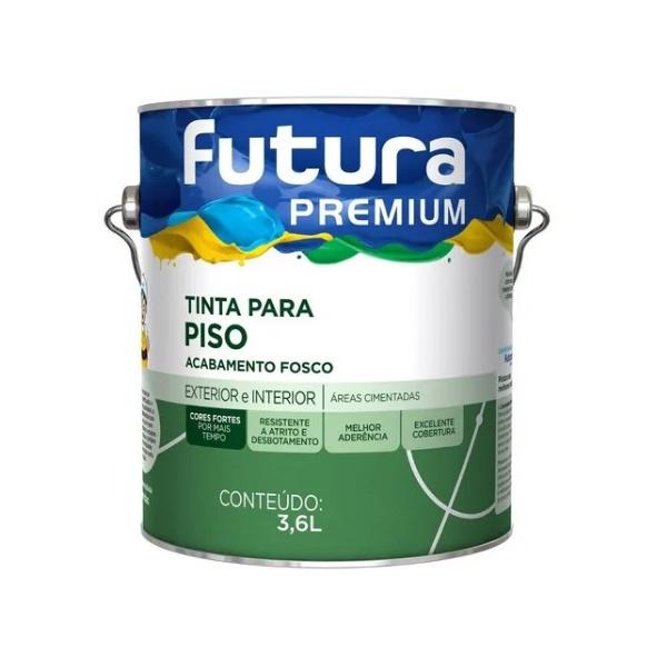 Tinta Piso Premium 3,6L Futura
