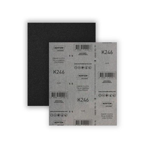 Folha de Lixa Ferro K246 Norton