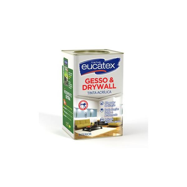 Gesso e Drywall Eucatex 18L