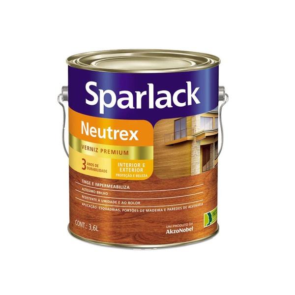Verniz Neutrex Diversas Cores Sparlack 3,6 L