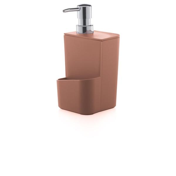 Dispenser Para Detergente 650ml Terracota-Martiplast
