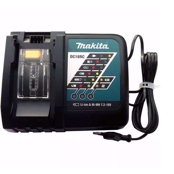 Carregador De Bateria DC18RC Bivolt-Makita