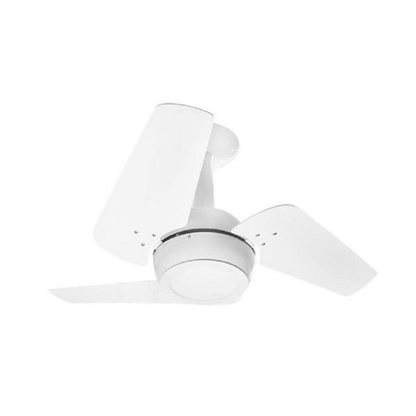 Ventilador de Teto Loft Led 3 Pás Todo Branco 127V-Venti Delta
