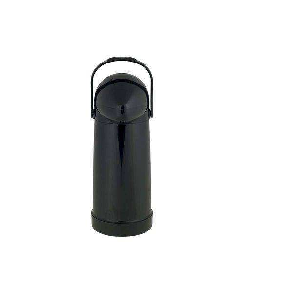 Garrafa Térmica Pressão Nobile Preta 1 Litro-Mor