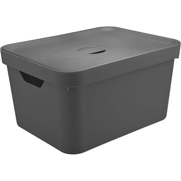 Caixa Organizadora Cube G Chf C/Tampa-Martiplast