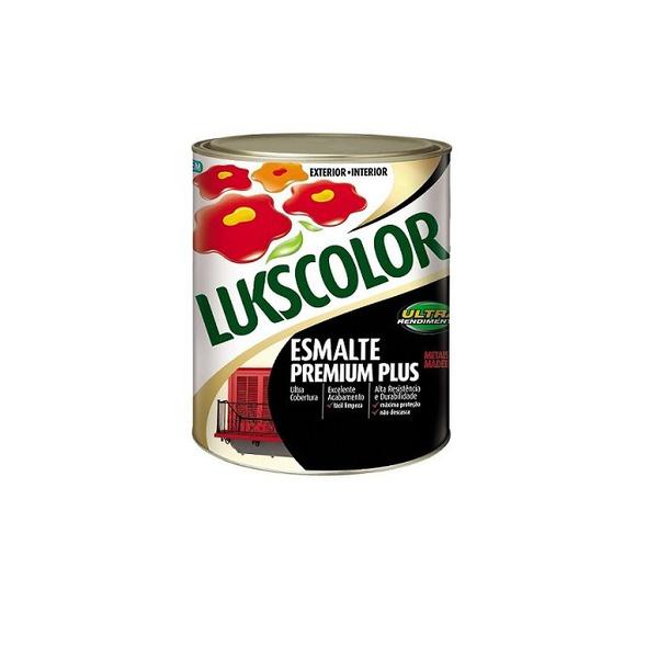 Tinta Esmalte Sintético Lata 0,900 Litros Lukscolor