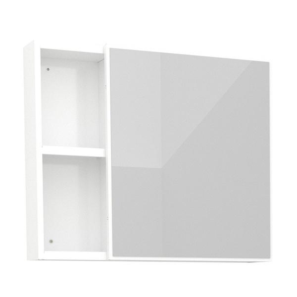Espelheira Ameixa MDF 60Cm Branca-Cozimax