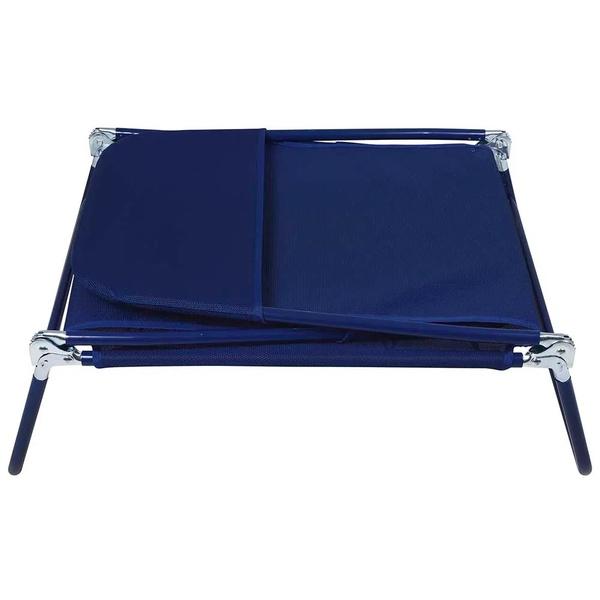 Espreguicadeira Textilene Azul-Mor