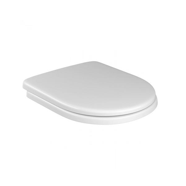 Assento Sanitário Carrara/Level/Nuova Slow Close PP Branco-Deca