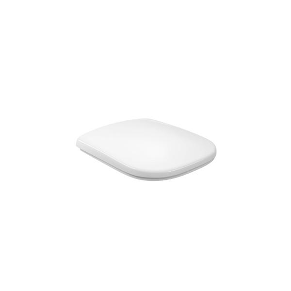 Assento Sanitário em Polipropileno Quadra/Polo/Unic Slow Close Branco-Deca