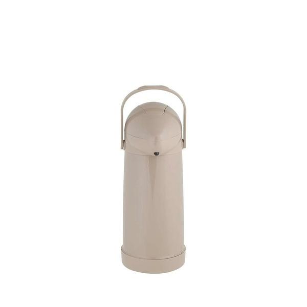 Garrafa Térmica Pressão Nobile Bege 500ml-Mor