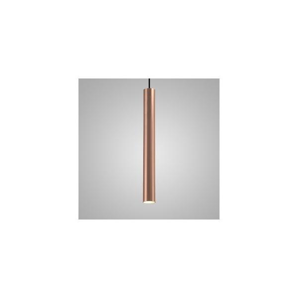 Pendente Usina Design Linha Ducto 57 Cobreado-110x400x1000m