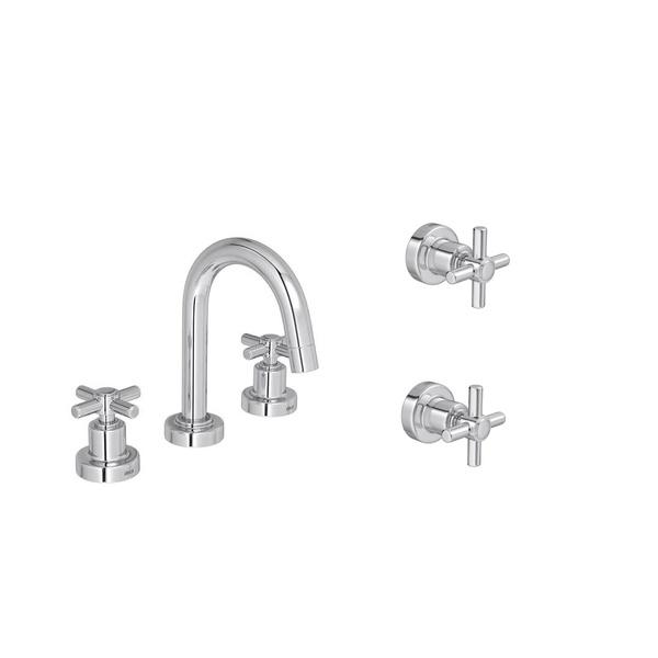 Kit Misturador Para Banheiro De Mesa Bica Alta 1877 C37 Izy Cromado-Deca