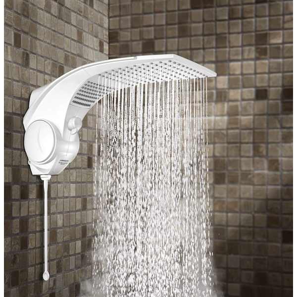 Ducha Duo Shower Quadra Eletrônica 7500w 220v Branca-Lorenzetti