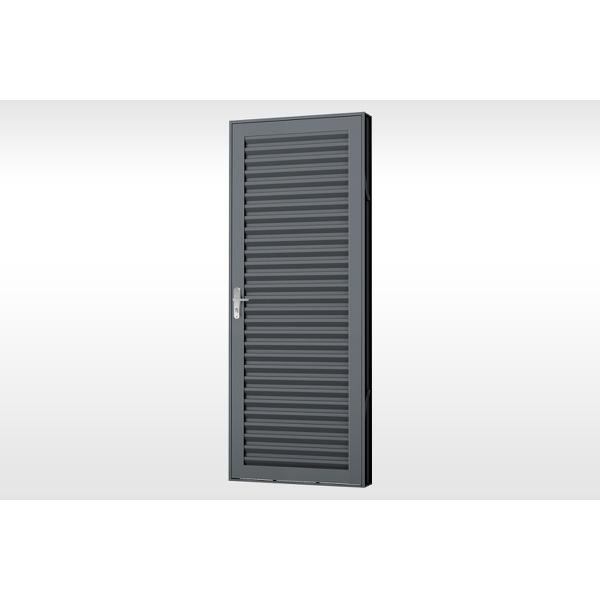 Porta Laminada Aço de Abrir Extra 215x85x7cm Mic