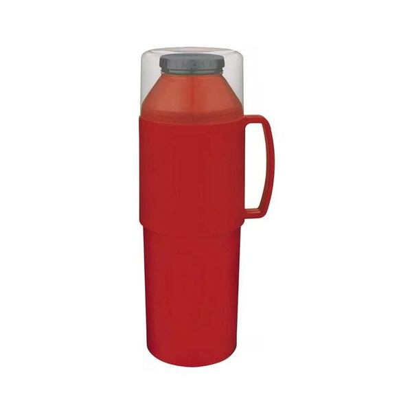 Garrafa Térmica Indie Vermelha 1 Litro-Mor